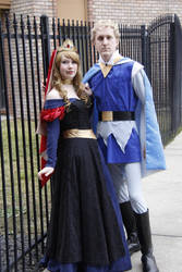Aurora and Philip by PrincessofTeaCosplay