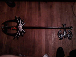 Pumpkinhead keyblade by DuctileCreations