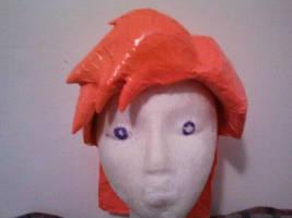 Conan O'Brien wig WIP2 by DuctileCreations