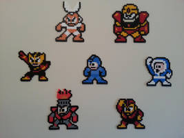 Megaman 1 Stage Select by DuctileCreations