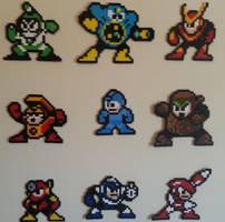 Megaman 2 Set by DuctileCreations