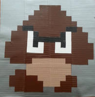 8-Bit Pixel Goomba by DuctileCreations