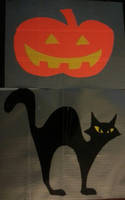 Halloween decals by DuctileCreations