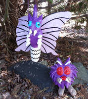 Moth Family by DuctileCreations