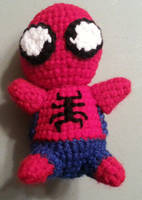 Crochet Spiderman by DuctileCreations