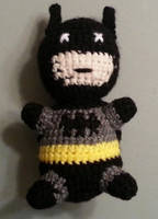 Crochet Batman by DuctileCreations