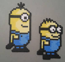 Perler Minions by DuctileCreations