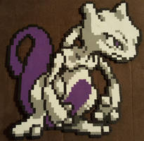 Mewtwo by DuctileCreations