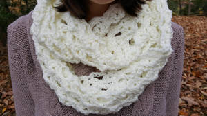 Crochet Infinity Scarf by DuctileCreations