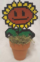 Sunflower Perler by DuctileCreations