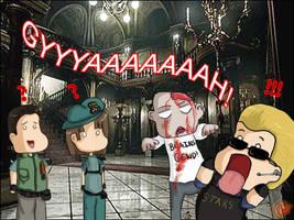 Poor Wesker by Sh3ikha