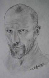 Jason Statham by Sh3ikha