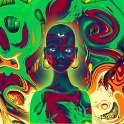 Psychedelic Seer by Sh3ikha