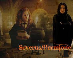 Snape Hermione by MaggiesWorlds