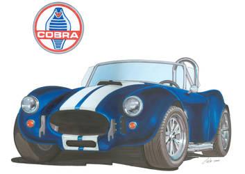 Shelby Cobra by tobycole