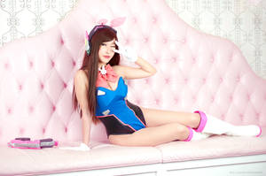 Bunny D.VA from Overwatch  7 by RinnieRiot
