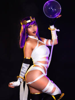 Menat from Street Fighter V Cosplay by RinnieRiot