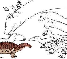 Dinosaur Highlights of 2017 by Albertonykus