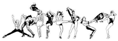Poses by caetanoneto