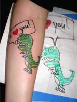 Dino Love by TimeToTakeBack