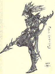 Kain Highwind, Dissidia by unknown3173