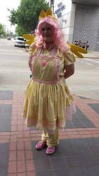 Fluttershy Lolita cosplay by AlicornLover