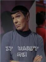 Spock IT WASN'T ME by THEJ0KES0nBATSY