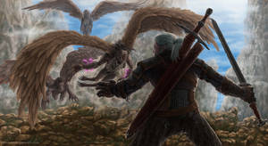 Witcher Geralt by Iromonik