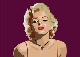 Marilyn by tuonenjoutsen