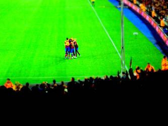 FC Barcelona Miniature by CJ-Boy
