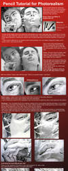 Pencil Tutorial - Photorealism by ZhaoT