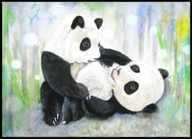 Panda Panda Panda by ZhaoT