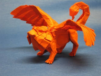 Manticore by Blue-Paper