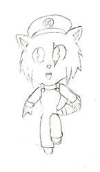 [SKTCH] Raccoon Hedgie by IceeDaHedgehog