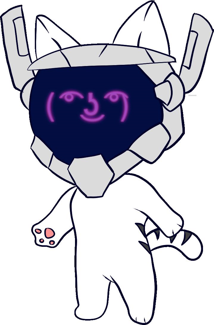[COLOR] Robo-Nya by IceeDaHedgehog