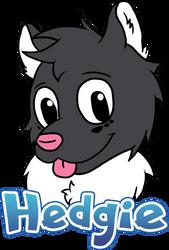 [FULL] Hedgie Badge by IceeDaHedgehog