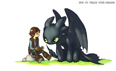 how to train your dragon by Mao718