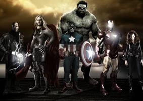 Avengers by MARCEL0