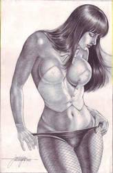 ZATANNA art by JUN DE FELIPE by rodelsm21