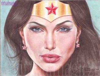WONDER WOMAN  art by JUN DE FELIPE by rodelsm21