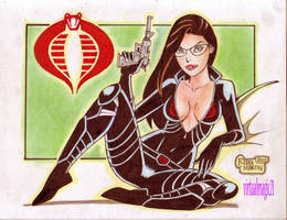 BARONESS cartoony by RODEL MARTIN (11042013) by rodelsm21