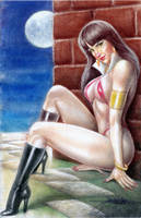 VAMPIRELLA by JUN DE FELIPE (01292018) by rodelsm21