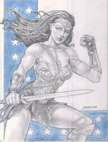 WONDER WOMAN by NOORA (02142018) by rodelsm21