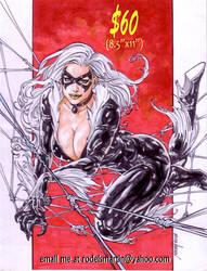 Black Cat 01 by Noora Aug 18 2018 by rodelsm21