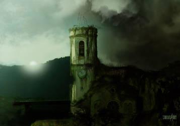 Town Left  Behind p.1 by ZireaelArt