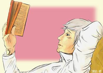 WILL'S BOOK THIEF by ZireaelArt