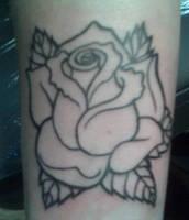rose tattooo by Kiartia