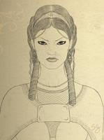 La  principessa Tsippiri - La regina Malgib - face by stefanogesh