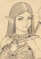 Elfa - face by stefanogesh