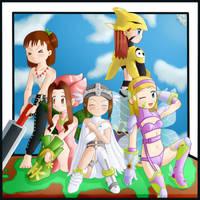 Digimon Cosplay by llMoonLightll